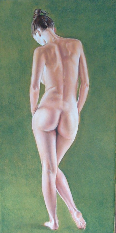Study : walking nude
